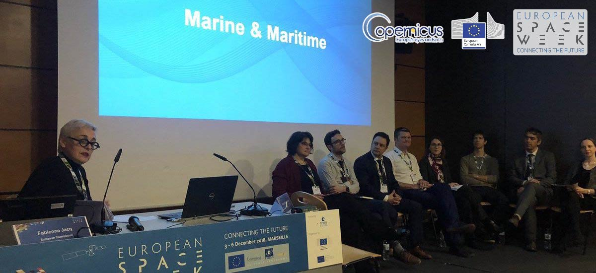 European Space Week EUSW2018, Invited talk Space as a tool supporting the energy package in the Marine and Maritime session